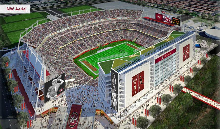 Candlestick and New Stadium